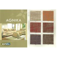 AGNIKA Ateja Kain Fabric Interior Sofa Bantal Cushion Tebal Kain - SETENGAH