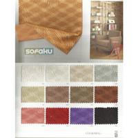 CHARMING Ateja Bahan Sofa Charming - Motif Halus Interior Sofa, Fabric - SETENGAH
