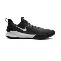 NIKE Mamba Focus Sepatu Basket Pria 12 Black White