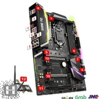 Good Quality Msi Z370 Gaming Pro Carbon