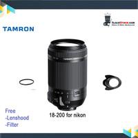 Lensa Tamron 18-200MM F 3.5-6.3 DI II VC - Lensa Tele Tamron For Nikon