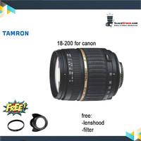 Lensa Tamron 18-200MM F 3.5-6.3 DI II VC - Lensa Tele Tamron For Canon