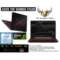 Asus Gaming FX505GD # i5-8300 BEZEL Tipis Military Grade !!