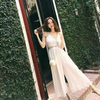Lace Jumpsuit Import Premium Dress Korea Beachwear Summer Dress Pantai
