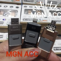 FLASHDISK FLAS DRIVE COTG IPHONE 32GB 3in1 Iphone apple android PC