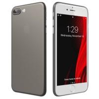ASENARU iPhone 7 8 Plus Case - Super Slim Signature Casing - Gunmetal
