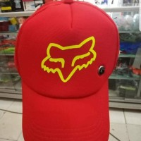 TOPI SEPEDA - TOPI TRUCKER JARING BALAP MOTOR CROSS FOK
