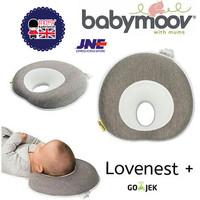 Babymoov Lovenest+ Smokey / Bantal Peang Bayi - mosaic pillow baby NB