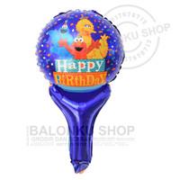 Balon Foil Tongkat Sesame Street / Balon Pentung Sesame Street / Elmo