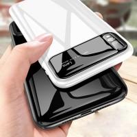 Casing Hard Case Armor Kaca Glossy Shockproof untuk Huawei P20 Pro Lit