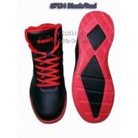 Sepatu Basket. DIADORA SPIN Black/Red. 100% ORIGINAL. DIAKB80809BR
