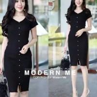 dress wanita baju terusan minidress sexy mini pendek casual korea