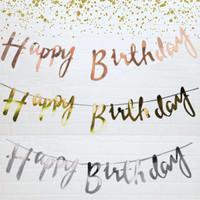 Happy Birthday Garland/Banner Happy Birthday Sambung/HBD Latin