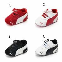 sepatu bayi PWS Puma line/ sepatu prewalker bayi/ sepatu bayi import