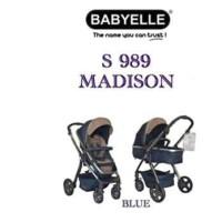 Babyelle S989 Madison Blue