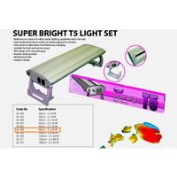 Lampu Aquarium/ Aquascape - Aqua Zonic Super Bright 24W x2 - AZ 60cm