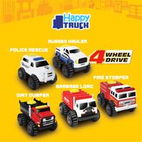 Happy Truck Mobil 4 Wheel Drive - Mainan Die Cast - Mainan Mobilan