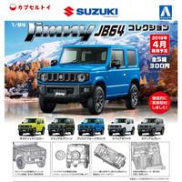 Diecast Suzuki Jimny JB64 isi 5pcs 1/64 by Aoshima