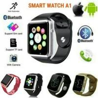 Jam Tangan Smart Watch A1 SmartWatch U10 Like Apple Watch Hp Sim Card