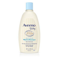 Aveeno Baby Wash & Shampoo Lightly Scented 532 ml (18 fl oz)