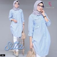 Baju Atasan Wanita Muslim Blouse Sitta Tunik Shofiya