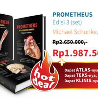 Prometheus Atlas Anatomi Manusia Edisi 3 Lengkap 3 buku