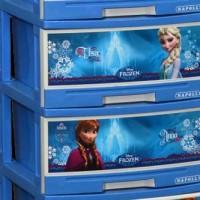 Lemari Plastik Napolly 4 Susun Frozen Best