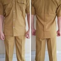 terkeren berkualitas Baju Seragam Khaki Pdh Pns/Pemda/Guru/Pria/Laki