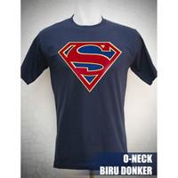 Kaos Supergirl Logo Ukuran S sd XL