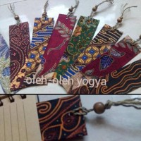 HOT SALE Souvenir pembatas buku batik Terjarmin