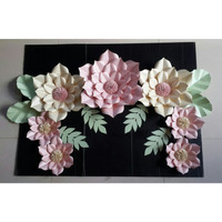 Paket Hemat Paper Flower & Backdrop + Bunting Flag Bridal Shower