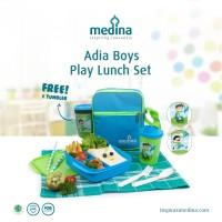 Tempat Makan Anak Tupperware - Tas Makan Anak - Adia Boys Lunch Set