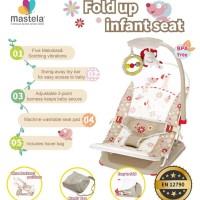 BOUNCER BABY MASTELA FOLD UP INFANT SEAT COKLAT