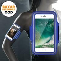 Techdoo Armband Sport Armband Running Armband Case Armband TAB01 - Biru
