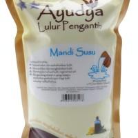 Lulur Badan / Body Scrub Ayudya Susu 1000 ml