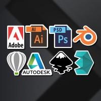 Stiker / Sticker Design Program untuk Laptop, Mobil, Koper, dll