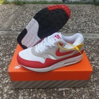 Sepatu Nike Air Max 1 Anniversary OG Red White Premium Quality