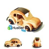 Souvenir Hiasan Miniatur Pajangan Koleksi Mobil VW Kayu Ukuran Besar