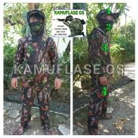 Stelan baju kamo/kamuflase. setelan baju hunting/berburu