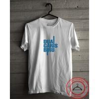 Kaos baju film DUA GARIS BIRU t-shirt distro bahan adem pria wanita