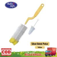 Baby Safe Sikat Botol Putar Rotaring Handle ( BD03A )