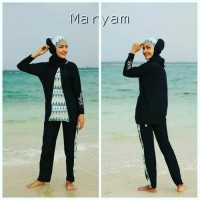baju renang muslimah ASSILA MARYAM import quality