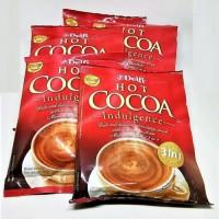 delfi hot cocoa minuman Cokelat 3 in1 sachet 25 gram isi 4