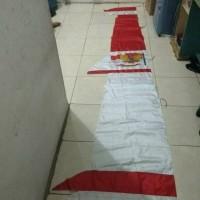 Bendera Umbul Umbul Layur GARUDA MERAH PUTIH 4 Meter