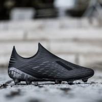 Sepatu Bola Adidas X 18+ FG Shadow Mode - Core Black