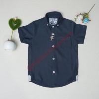 Baju anak Balita batita pesta (2-10thn) Premium Biru navy dark blue