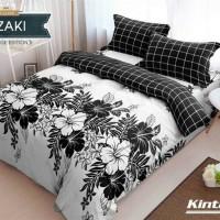 BEDCOVER SET KINTAKUN AZAKI No.1 KING 180 BED BAD COVER BUNGA KEMBANG