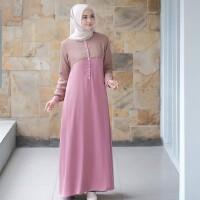Baju Muslim Wanita Terbaru AULIA DRESS Murah Kekinian Trendy 2019