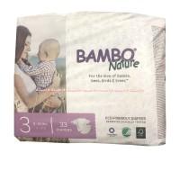 Bambo Nature 3 Eco Friendly Diapers 4-9kg 33 Popok Bayi Bamboo