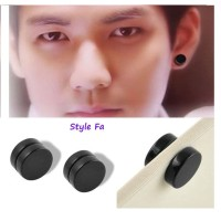 Anting Magnet Anting Pria Wanita Magnetic Clip On Non Pierced Earring